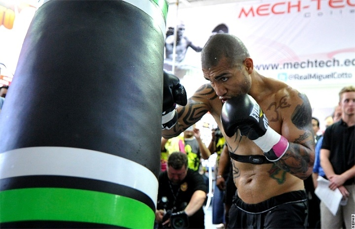 Cotto on Training  Watch Mayweather vs Cotto Live Streaming on http://www.mayweathervscotto.com