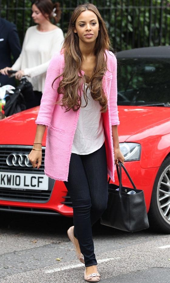 Rochelle Wiseman Out In London, 2012