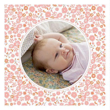 Faire-part naissance Gaieté by Mr & Mrs Clynk pour www.fairepartnaissance.fr #birth #announcement #liberty