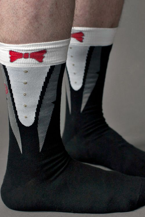 Your feet will be black-tie ready in these snappy larger footed socks with  woven - 29 Best Tuxedo Accessories Images On Pinterest