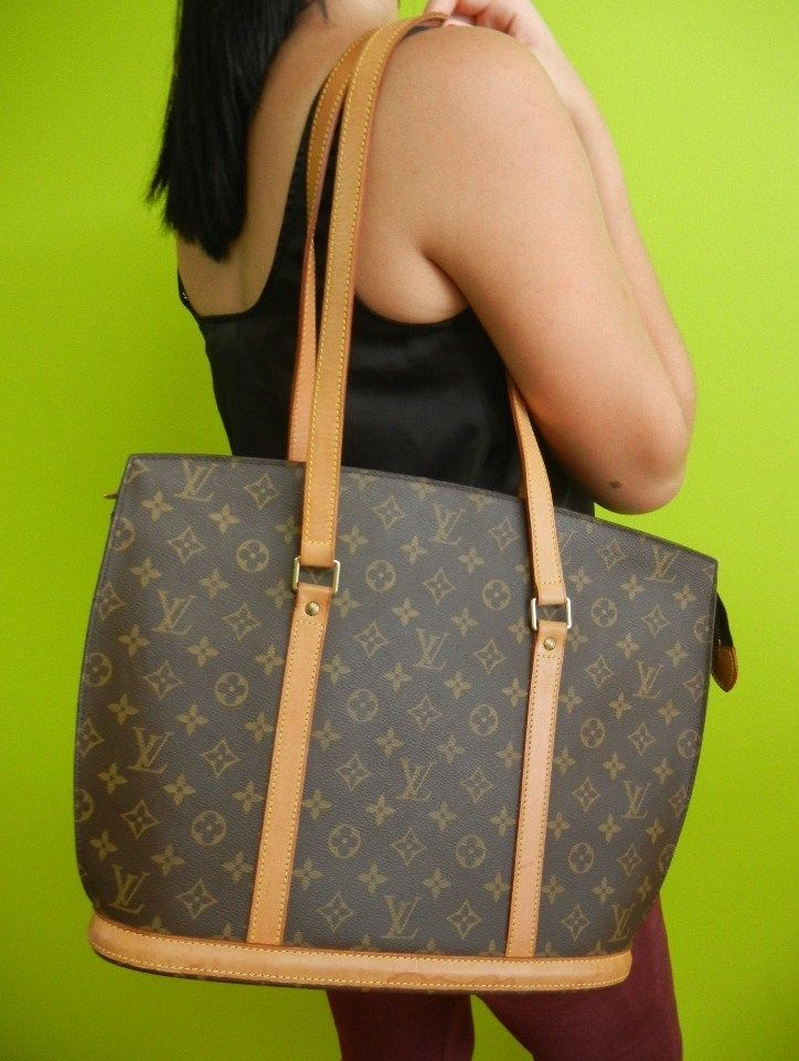 authentic louis vuitton monogram babylone lv tote bag m51102 shoulder tasche sac purses online. Black Bedroom Furniture Sets. Home Design Ideas