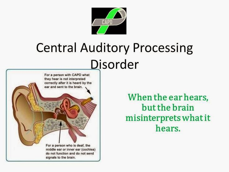 Raising A Child With Auditory Processing Disorder