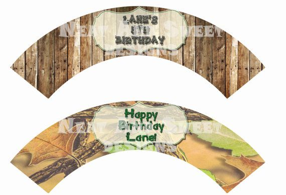 Set of 6 Printable Hunting Themed Cupcake Wrappers - Camo Cupcake Wrappers - Birthday Cupcake Wrappers - Hunting Party Cupcake Wrappers #huntingthemedparty: Cupcake Wrappers, Crafts Ideas, Camo Bday, Camo Cupcakes, Birthday Parties, Bday Ideas, Birthday Cupcakes, Wrappers Huntingthemedparti, Birthday Ideas