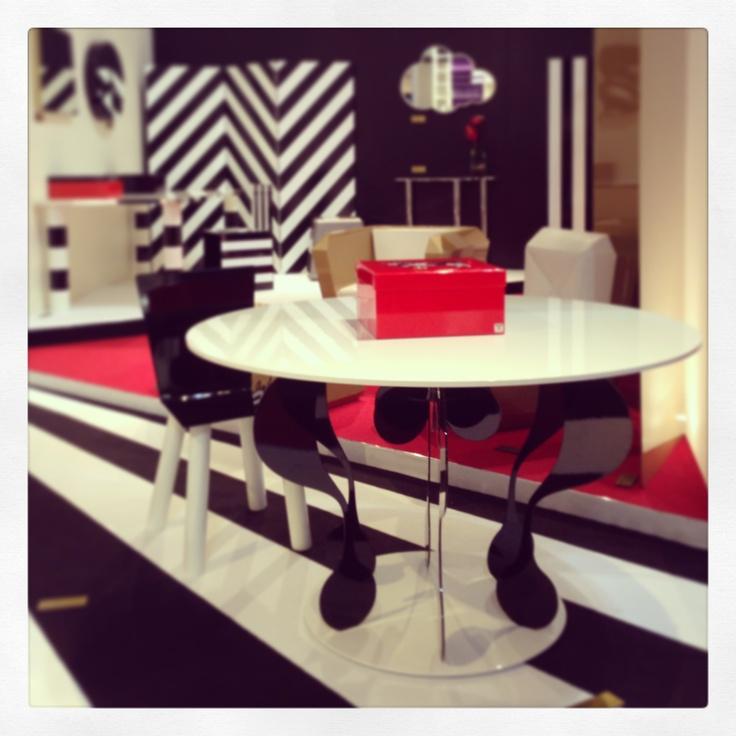 #enigma table, design Garilab by Piter Perbellini for #altreforme @iSaloni 2013 #interior #home #decor #homedecor #furniture #aluminium