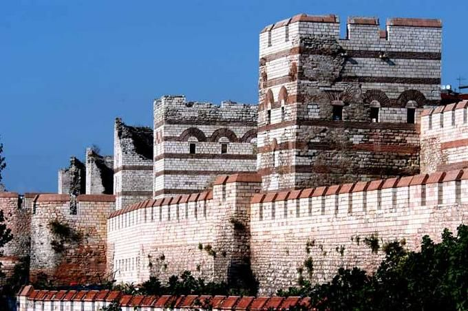 Defense wall of Constantinople, *Istanbul, Turkey