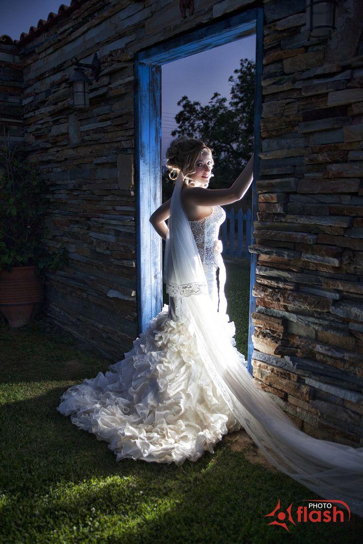 Νύφη,Bride, studio photo flash