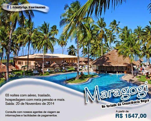 Maragogi - Consciência Negra Para mais informações acesse: http://riotripturismo.com.br/index.php/pacotes/267-maragogi-3-noites-consciencia-negra