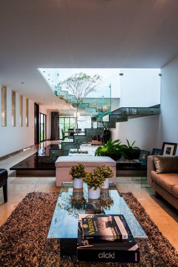 Salas de estar modernas por aaestudio