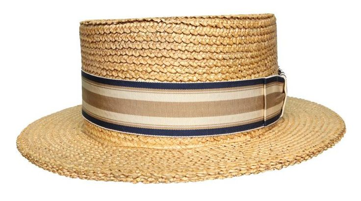 Nucky Thompson's Straw Boater - Current price: $375