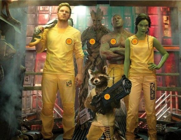 New Guardians of the Galaxy Pics Feature Gamora And Some Other People