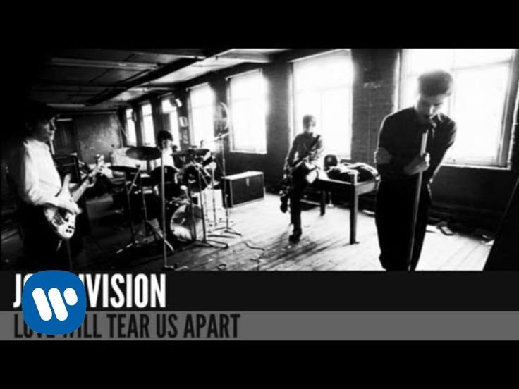 Joy Division - Love Will Tear Us Apart [OFFICIAL MUSIC VIDEO]. Because Thirteen Reasons Why and Doctor Who used this New Wave classic recently.