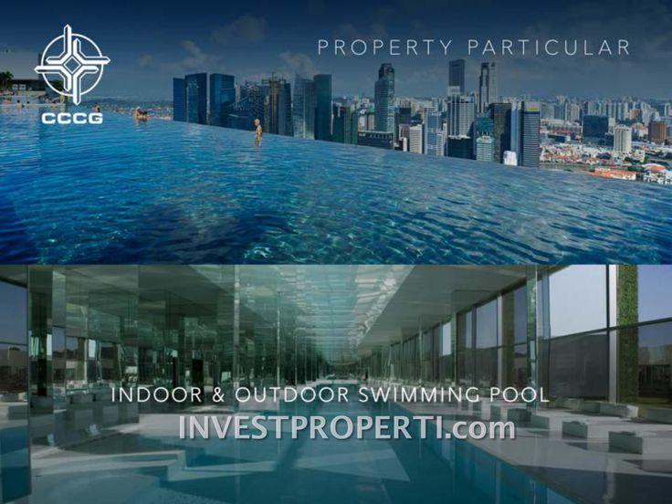 Daan Mogot City swimming pool facilities indoor and outdoor. #daanmogotcity
