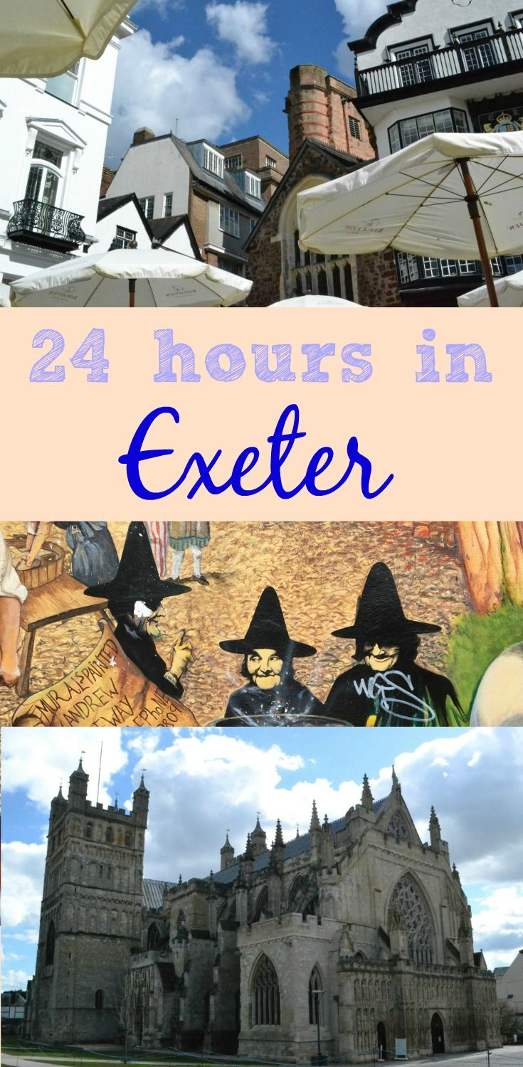 A guide to great places to eat, the sights to see and where to stay when you have 24 hours in Exeter - a child-free city break in Devon's capital