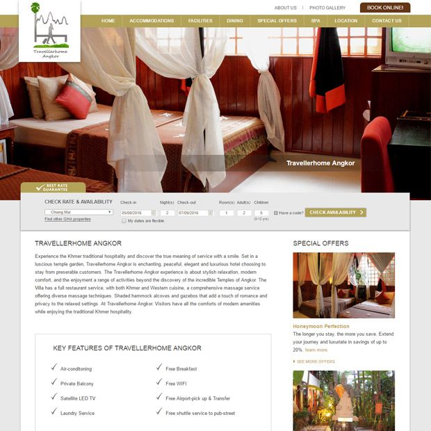 The TravellerHome Angkor One Of Best Stay And Heart City Location In Siem Reap