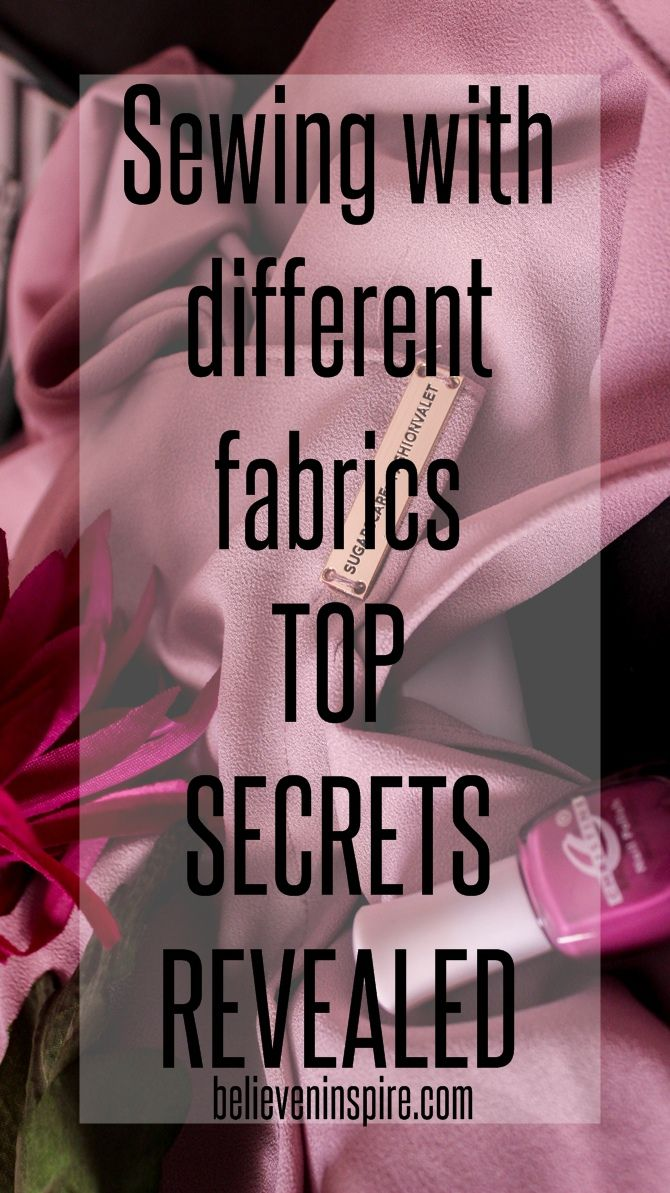 Sewing with different fabric - TOP SECRETS REVEALED So how do you decide what kind of fabric to use for a particular dress and what sort of needles and threads would be required for each? Craftsy offers an online class to solve this problem and in this post I share the class review. Read now for details.