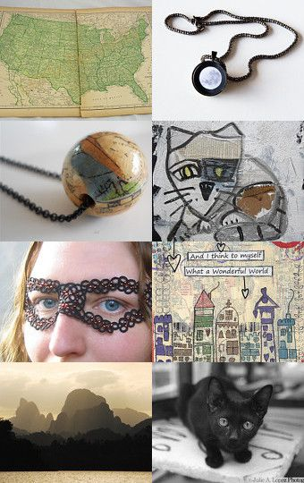 Seeing the World by Chickie on Etsy--Pinned with TreasuryPin.com
