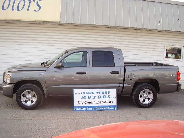 Location: Craig Terry Motors   Year: 2010   Make: Dodge   Model: DAKOTA   VIN:    Trim: SLT   Colour: GRAY   Transmission: Automatic   Mileage:   59000   Price: $ 19995.00   Stock #: DAKM   Features:      Description:   PLUS HST