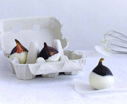 figs: En Utradisjonell, Chocolate Gifts, Dipped Figs, Gift Ideas, Utradisjonell Konfekteske, Chocolate Dipped, Dessert, Edible Gifts