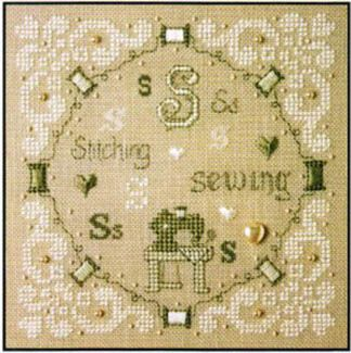 S is for Stitching and Sewing