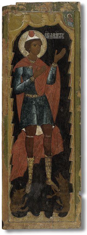 440 Пророк Даниил во рву львином (дверь жертвенника)