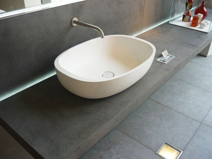 Küchenarbeitsplatte Arbeitsplatte Waschtisch Granit