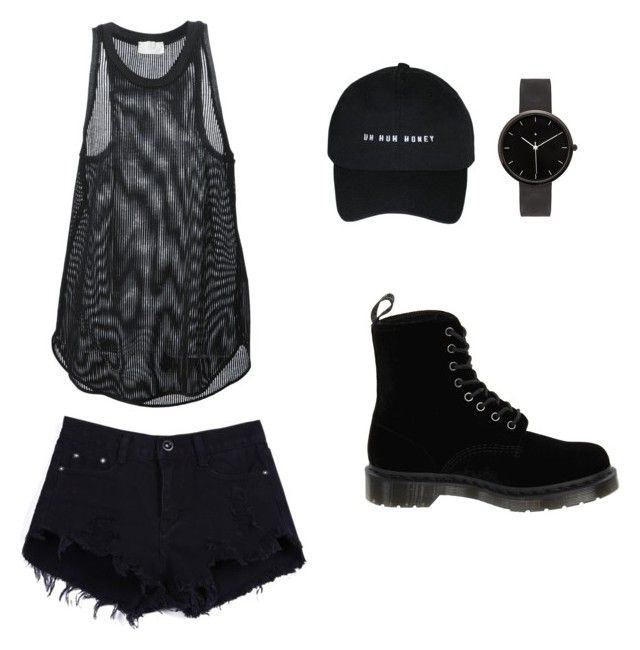 """"""""""" by nastia010101 on Polyvore featuring мода, Forte Forte, I Love Ugly и Dr. Martens"""