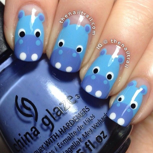 Animal Nail Art: 25+ Best Ideas About Animal Nail Designs On Pinterest