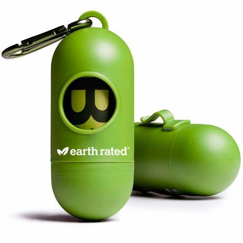 Dispensador de bolsitas ecológicas con aroma a lavanda ideal para los paseos de tu peludo. Incluye 1 rollo.