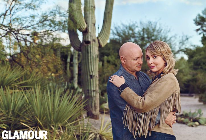 Gabrielle Giffords and Mark Kelly Are Glamour's Couple of the Year for 2013