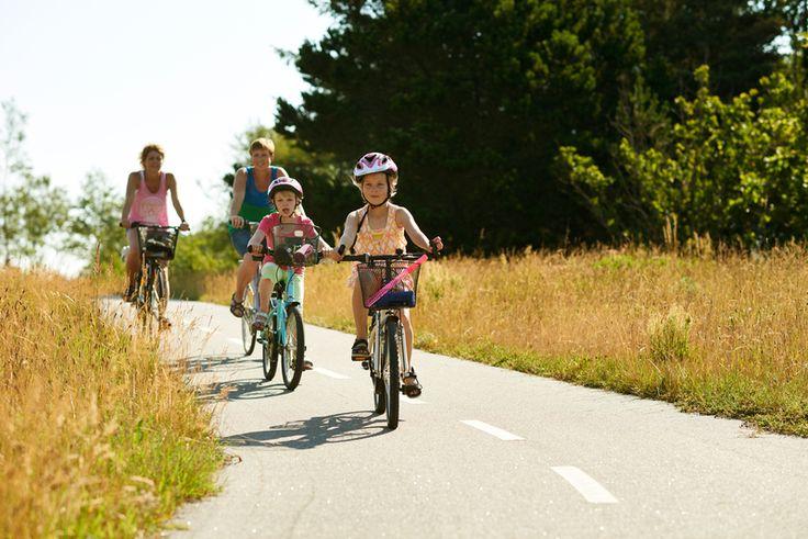 Biking around Slettestrand