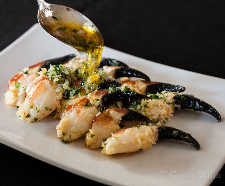 Ireland's Greatest Ingredients part 1 Crab claws with