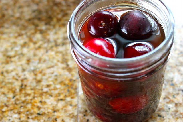 Bourbon Soaked Cherries | Ingredients, Condiments | Pinterest