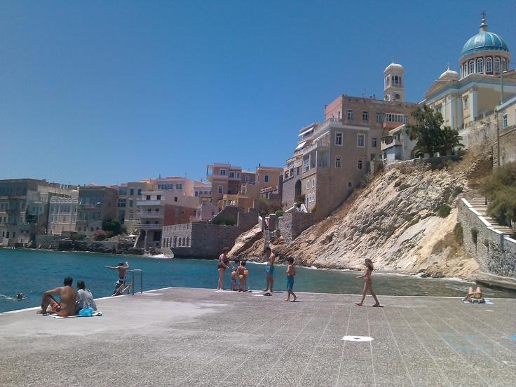 Syros island, Vaporia, Ermoupoli, GREECE