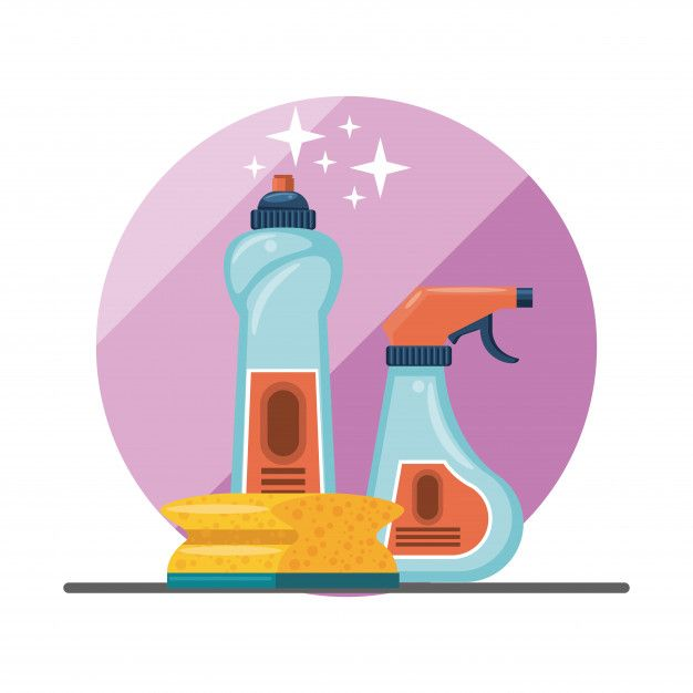 Descarga Gratis Productos De Limpieza Para Caricaturas Del Hogar