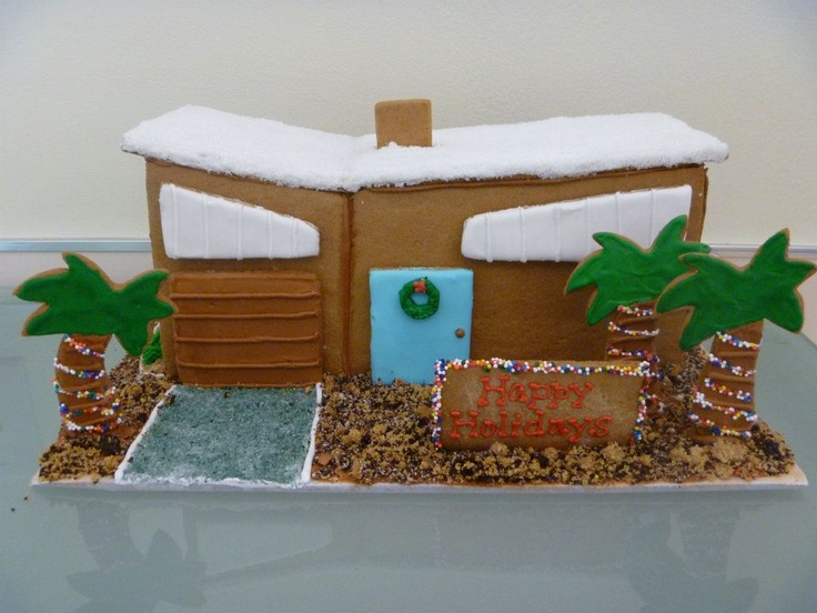 29 best cake study houses images on Pinterest | Gingerbread houses ...