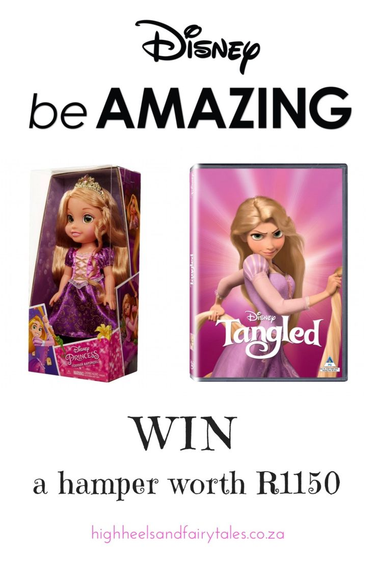 Win a hamper worth R1150 with Disney be AMAZING #disney #disneybeamazing #disneyprincesses #mombloggers