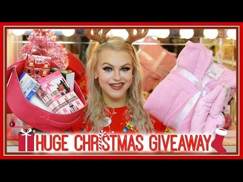 HUGE HOLIDAY GIVEAWAY | Open International Until January 1st!! - YouTube