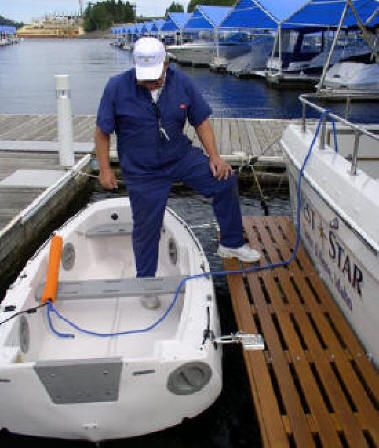 Dinghy Towing Dinghy Davits How To Carry Dinghy