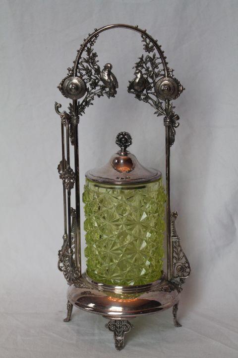 132 Best Vintage Pickle Castor Jar Images On Pinterest
