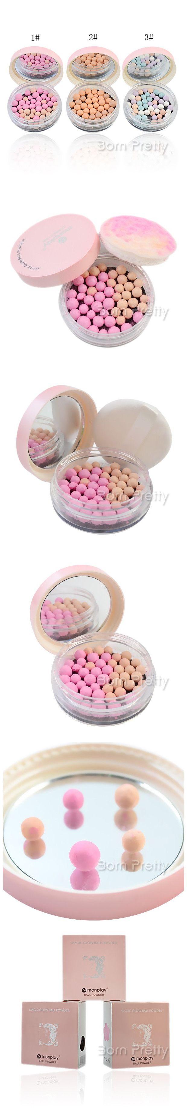 $5.33 1pc Magic Glow Ball Powder Face Concealer Powder Cosmetic Makeup - BornPrettyStore.com