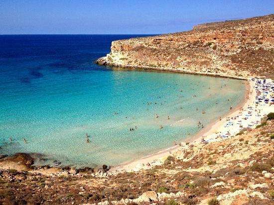 Best Beaches of 2014 according to Trip Advisor: #4 - Rabbit Beach, Lampedusa, Islands of Sicily, Italy