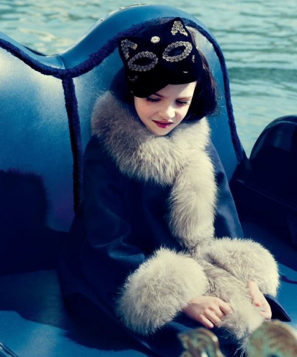 Luxury kids fashion at Baby Dior for fall/winter 2014 girlswear