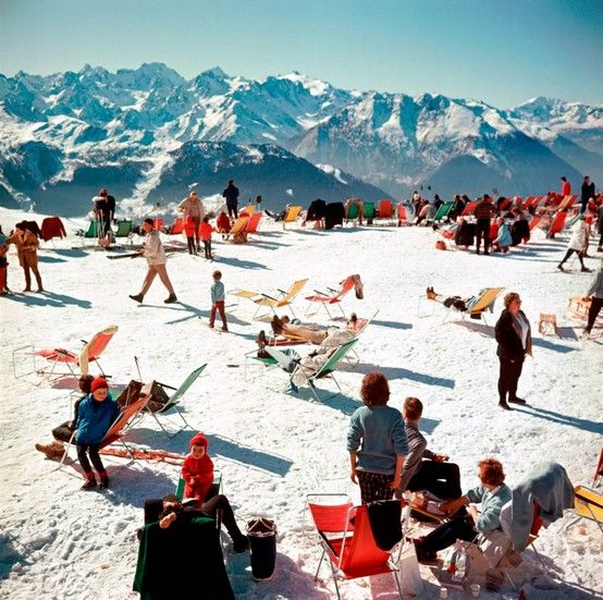 #travelcolorfully by slim aarons