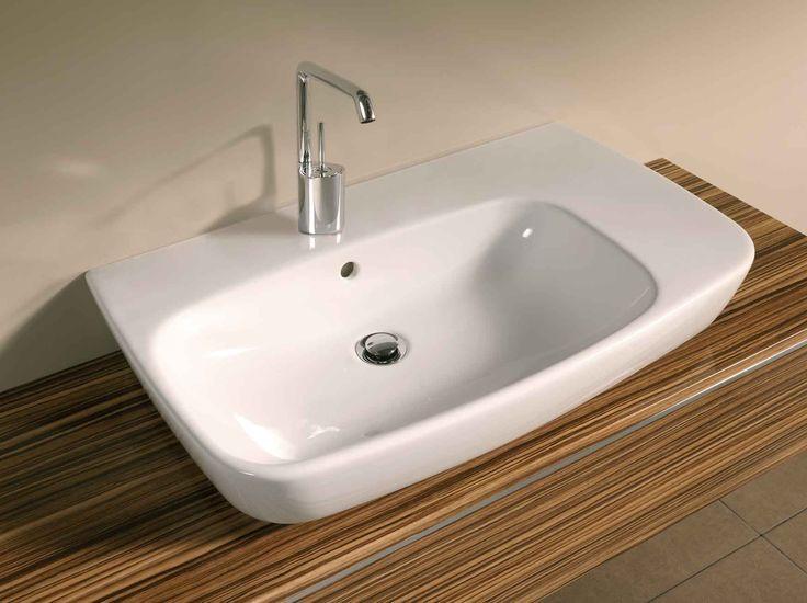 4391 Asymmetrical basin, 75cm