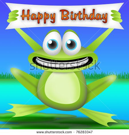 Best 25 Happy birthday frog ideas – Birthday Singing Card