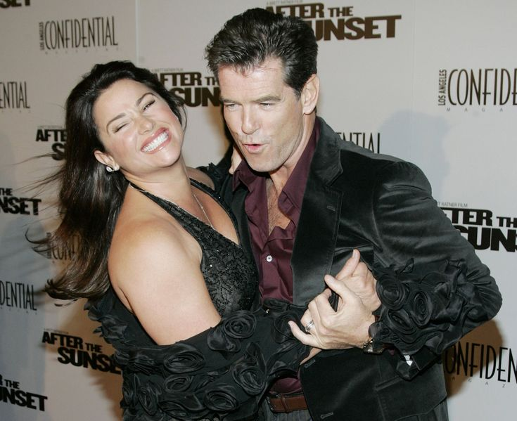 How Pierce Brosnan's Wife Put His Heart Back Together Again