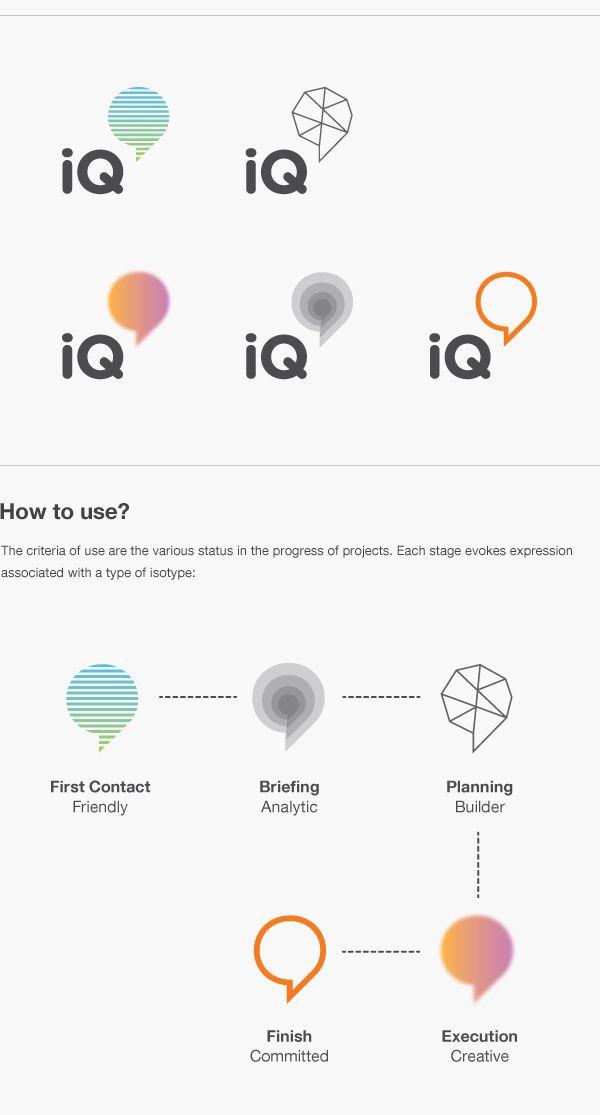 logo / IQ Agency by Eder Rengifo
