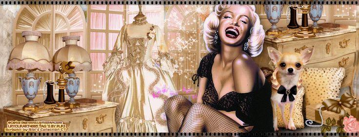 MI RINCÓN GÓTICO: Marilyn Monroe, de Carlos Diez