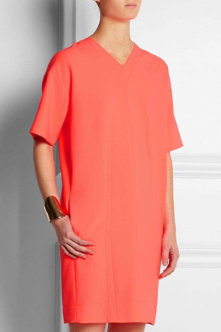 Cédric Charlier Oversized piqué dress NET-A-PORTER.COM