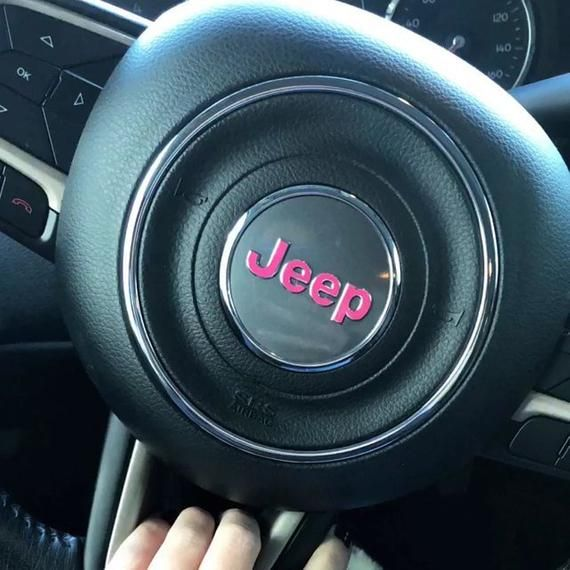 Decal Jeep Emblem Overlay For Jeep Steering Wheel 2014 And Etsy